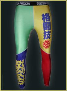 Scramble Rainbow Spats - Grappling Tights